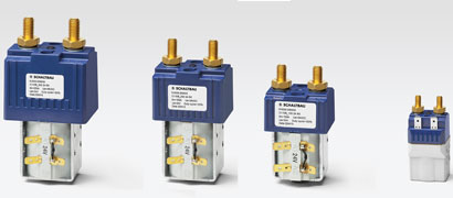 Optimized contactors for stationary and mobile industrial applications