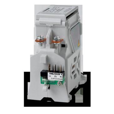 Elektrimootori katsestendi eellaadimise kontaktor. C294-topelt pole DC kontaktor rakendatakse eellaadimise kontaktor.