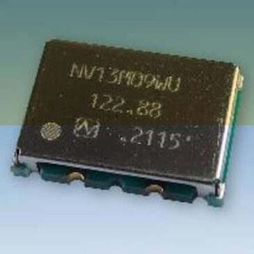 Developed ultra-low phase noise VCXO with industry-leading low floor noise performance of -180 dBc/Hz (*1) (SMD, sized 14×9mm)